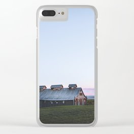 Summer Lake Clear iPhone Case