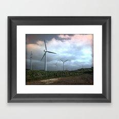 Mighty wind Framed Art Print