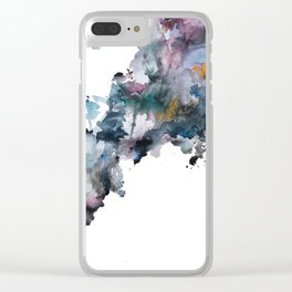 Allison's Tornado Clear iPhone Case