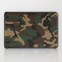 camo iPad Cases featuring Camo by TheSmallCollective