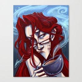 Good God Coffee Break Canvas Print