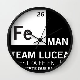 FeMan Team Lucea Wall Clock