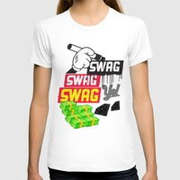 swag T-shirts featuring SWAG by Mr. Magenta