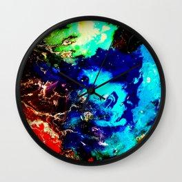 Cosmic Color Wall Clock