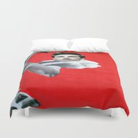 pride Duvet Covers featuring Pride by Mimi Rico
