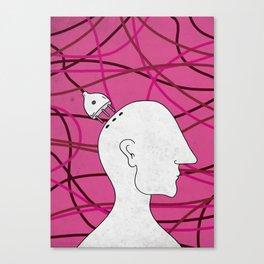 plug in Canvas Print