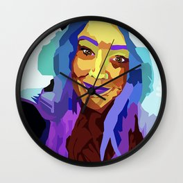 Colorful Lainey Wall Clock