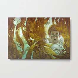 In the Kelp Forest Metal Print