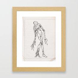 Sketch #13 Framed Art Print