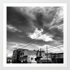 CafeTazo SF Street Photo Art Print