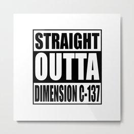dimension Metal Print