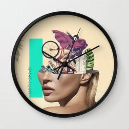Kate Mozao no Corote Wall Clock