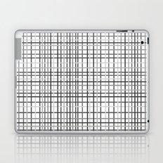Weave Black and White Laptop & iPad Skin