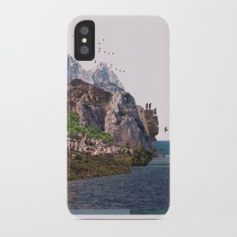 Summer ends tales iPhone Case
