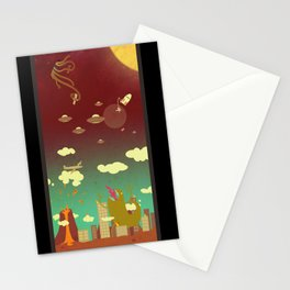 The end of the world as we know it! Stationery Cards