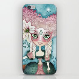 Noelle's Winter Magic iPhone Skin