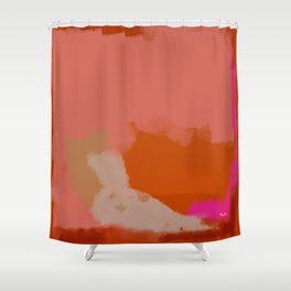 Double soul one body Shower Curtain