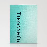 tiffany Stationery Cards featuring Tiffany by Christine Leanne