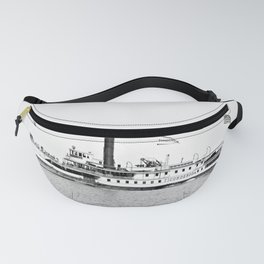 Ticonderoga Steamer on Lake Champlain Fanny Pack