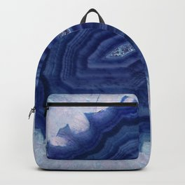Blue agate crystal's Backpack