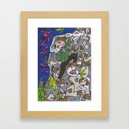 Colonel Forbin's Ascent Framed Art Print