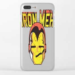 Iron Meh Clear iPhone Case