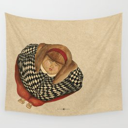 child obesity Wall Tapestry