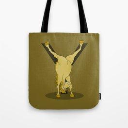 Monogram Y Pony Tote Bag