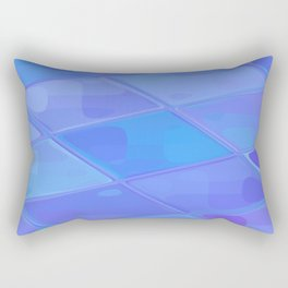 Re-Created Mirrored SQ LXXVII by Robert S. Lee Rectangular Pillow