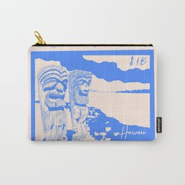 Kuaui in Hawaii Stamp Carry-All Pouch