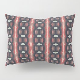 Retro-Delight - Continuous Chains (Oval) - Cherry Pillow Sham