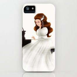 Liesl in Labyrinth iPhone Case