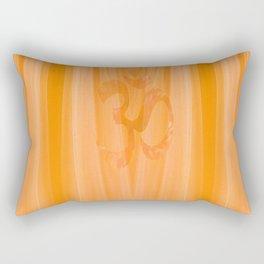 Mantra [Beige Yellow] Rectangular Pillow