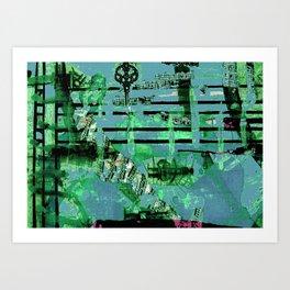 Green Dervish Art Print