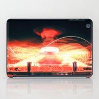 ufo iPad Cases featuring UFO by Teodora Roşca
