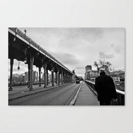 "Der Himmel über ""Paris"" Canvas Print"
