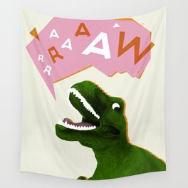 Dinosaur Raw! Wall Tapestry