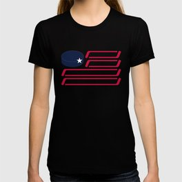 USA Hockey Flag T-shirt