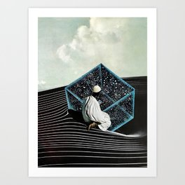 drop down Art Print