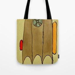 Crazy Wagon V Tote Bag