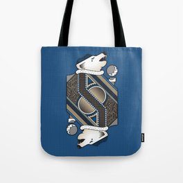 Wolf Card. Tote Bag