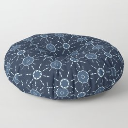 Glowing Stars Texture  Drawn Starry Sky Floor Pillow