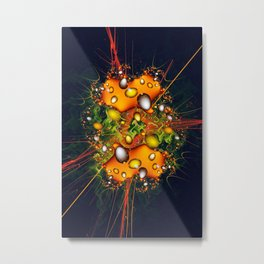 Galaxy Explosion Metal Print