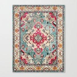N132 - Heritage Oriental Traditional Vintage Moroccan Style Design Canvas Print