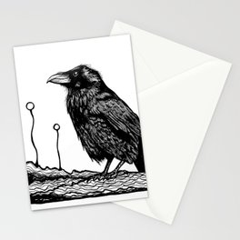 Jovial Raven Stationery Cards