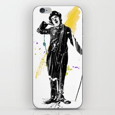 charlie chaplin 05 iPhone & iPod Skin
