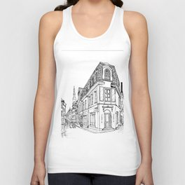 Old Alley Unisex Tank Top