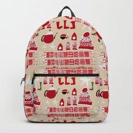 winter gear ivory Backpack