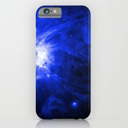 Orion Chaos Blue iPhone Case