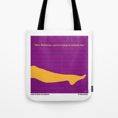 No135 My THE GRADUATE minimal movie poster Tote Bag